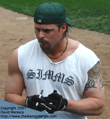 jason giambi before and after. Giambi